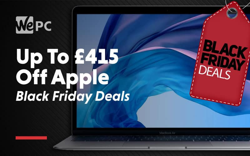 Up to 415 dollars off apple black friday deals