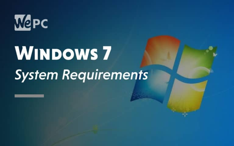 Windows 7 System Requirement
