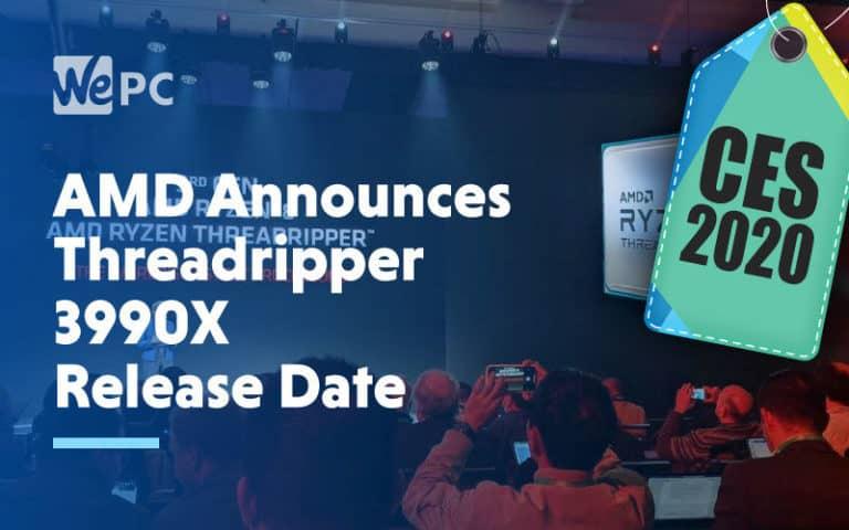 large AMD Announces Threadripper 3990X Release Date
