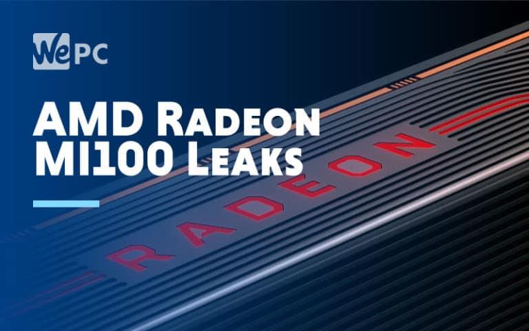 AMD Radeon MI100 Leaks