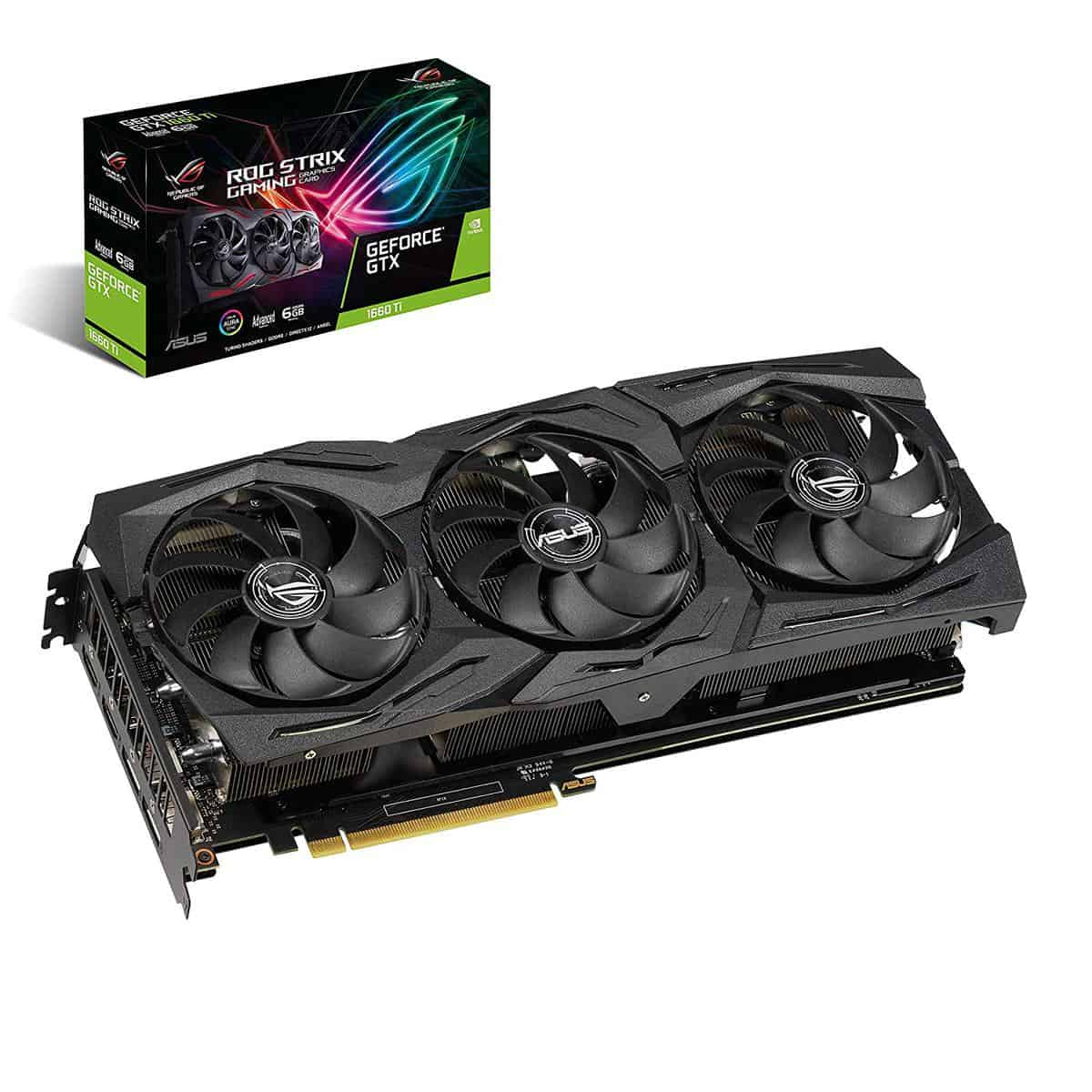 ASUS ROG Strix GeForce GTX 1660 Ti Advanced Edition