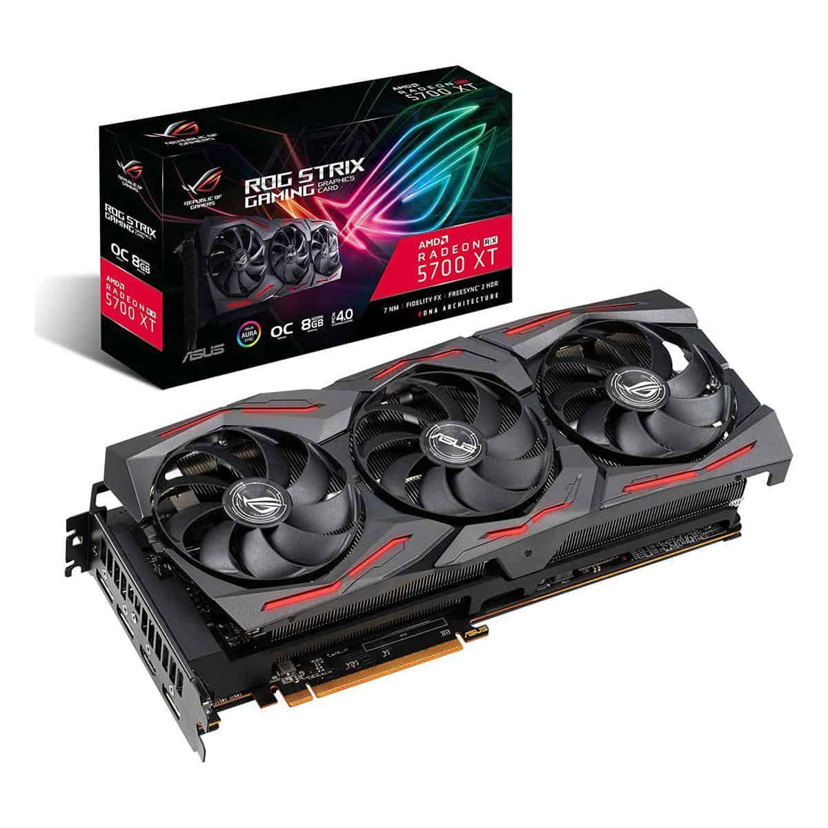 ASUS ROG Strix RX 5700 XT O8G Gaming