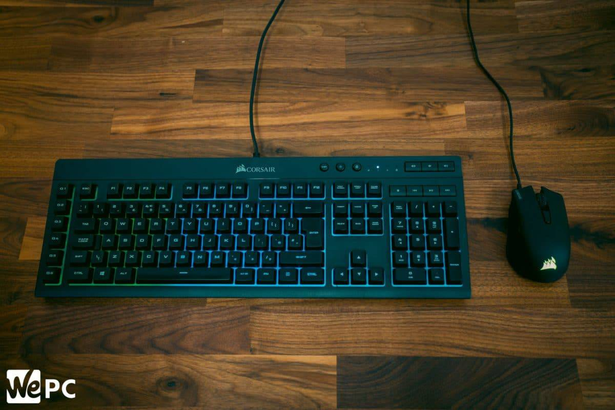 Corsair K55 Gaming Keyboard and Mouse