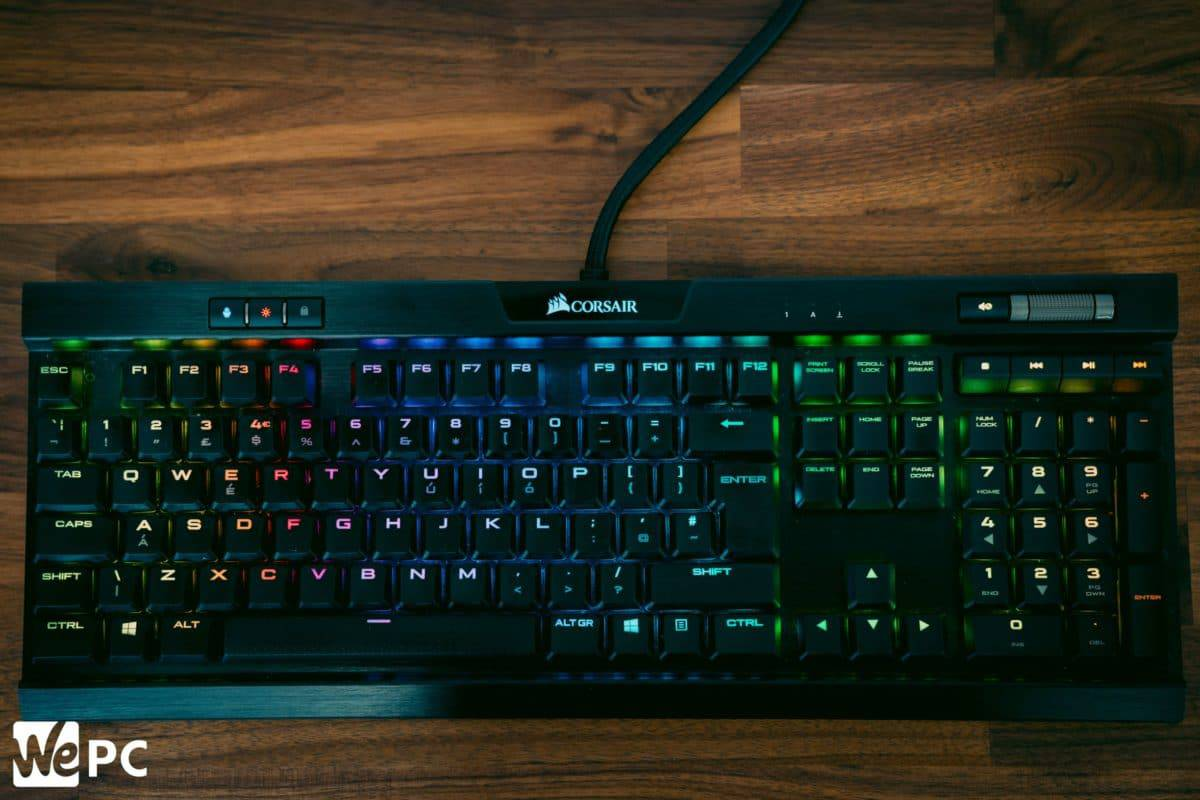 Corsair K70 MK2 Low Profile 4