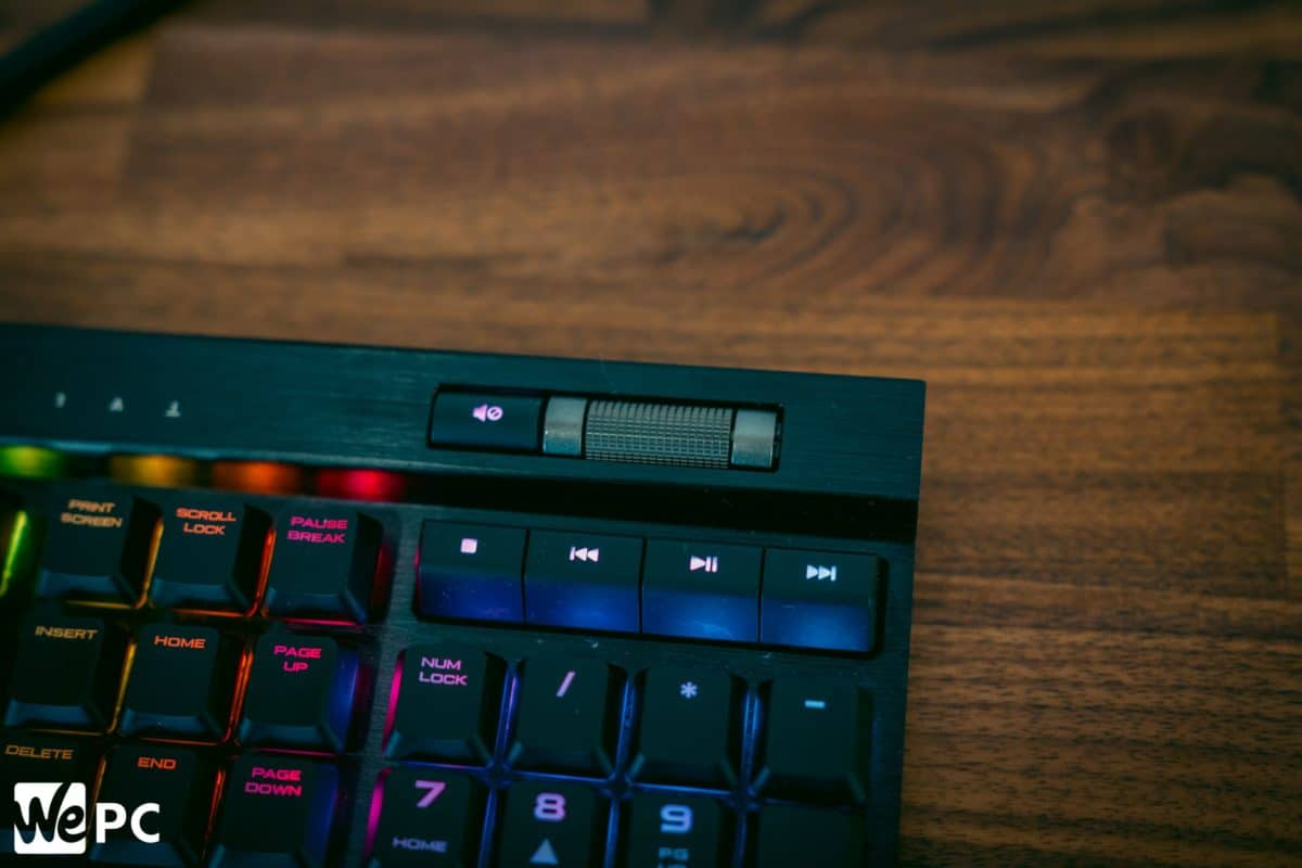 Corsair K70 MK2 Low Profile Features 1
