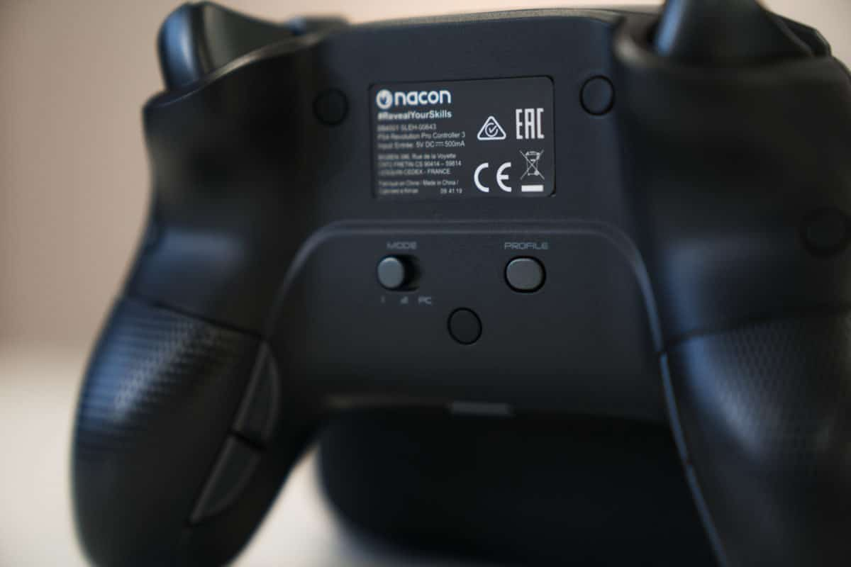 PS4 Controller back buttons