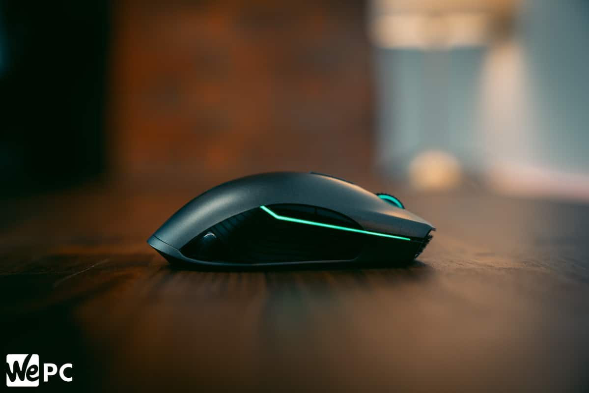 Razer Lancehead product shot of right side of mouse
