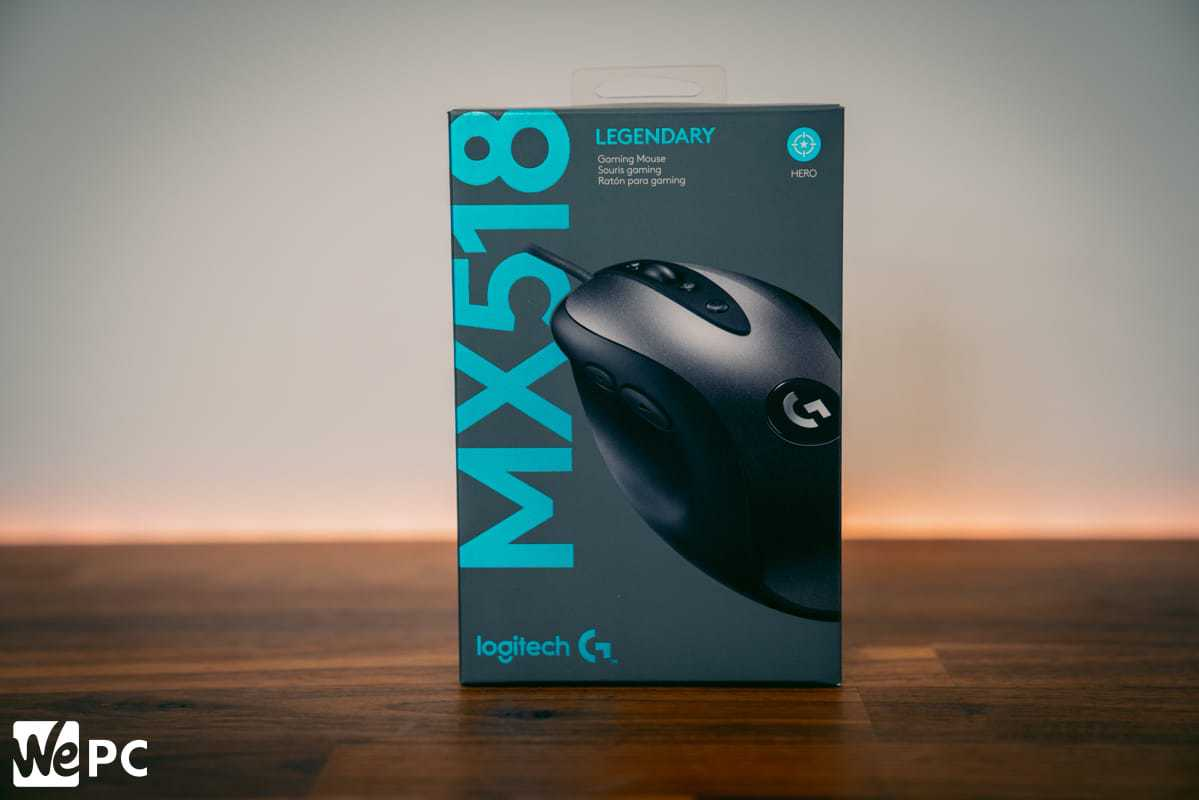 Logitech MX518 Legendary Box
