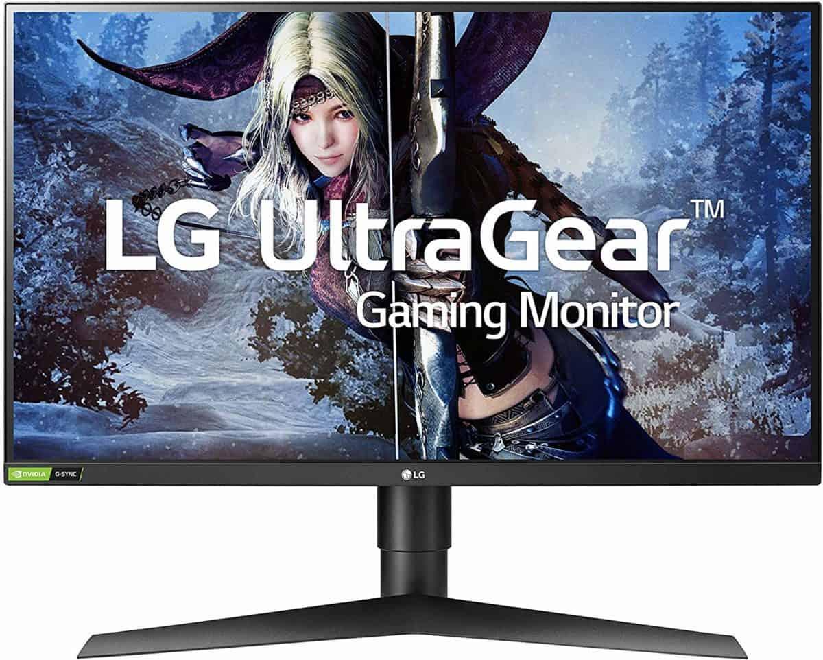 LG 27GL83A-B 27 gaming monitor