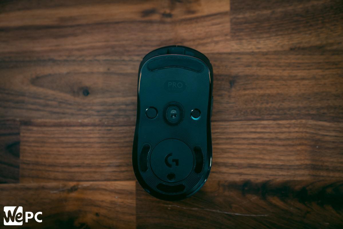 Logitech G Pro Wireless Product Bottom