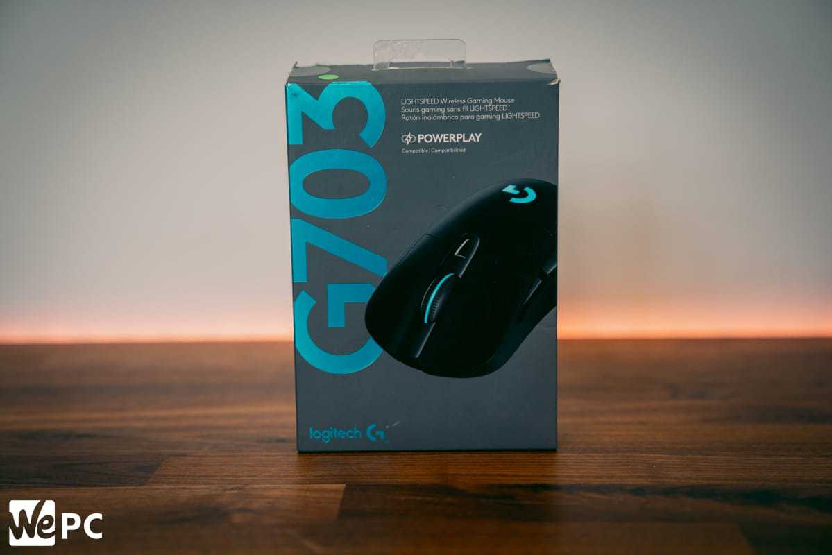 Logitech G703 Product Box