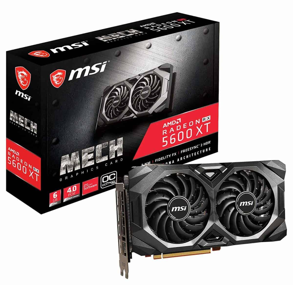MSI AMD Radeon RX 5600 XT