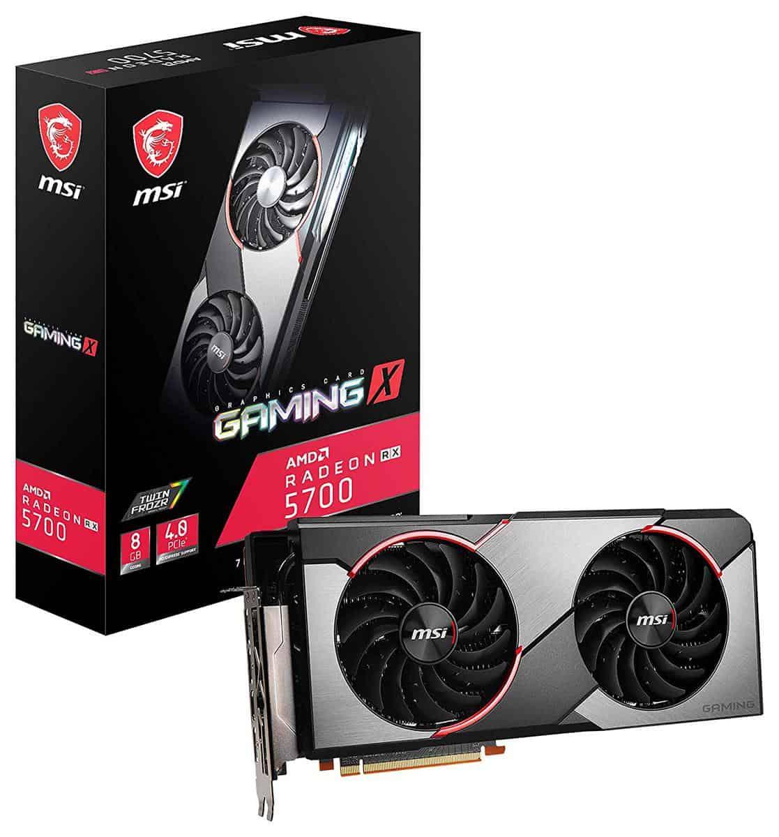 MSI AMD Radeon RX 5700 Gaming X