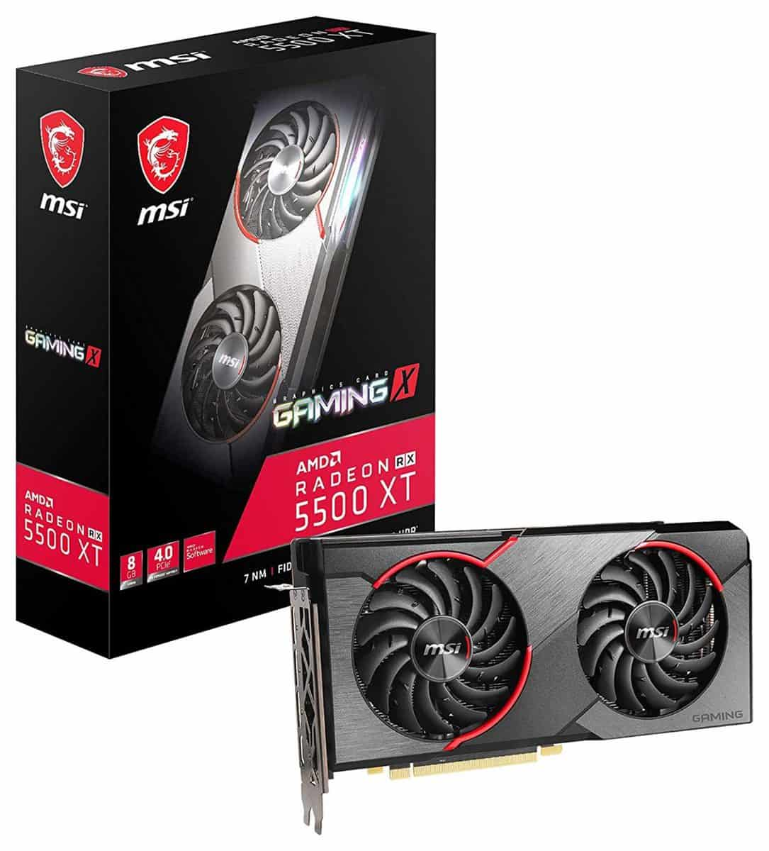 MSI Radeon RX 5500 XT GAMING X 8 GB