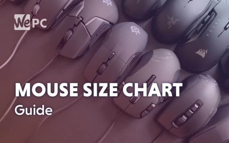 Mouse Size Chart Guide