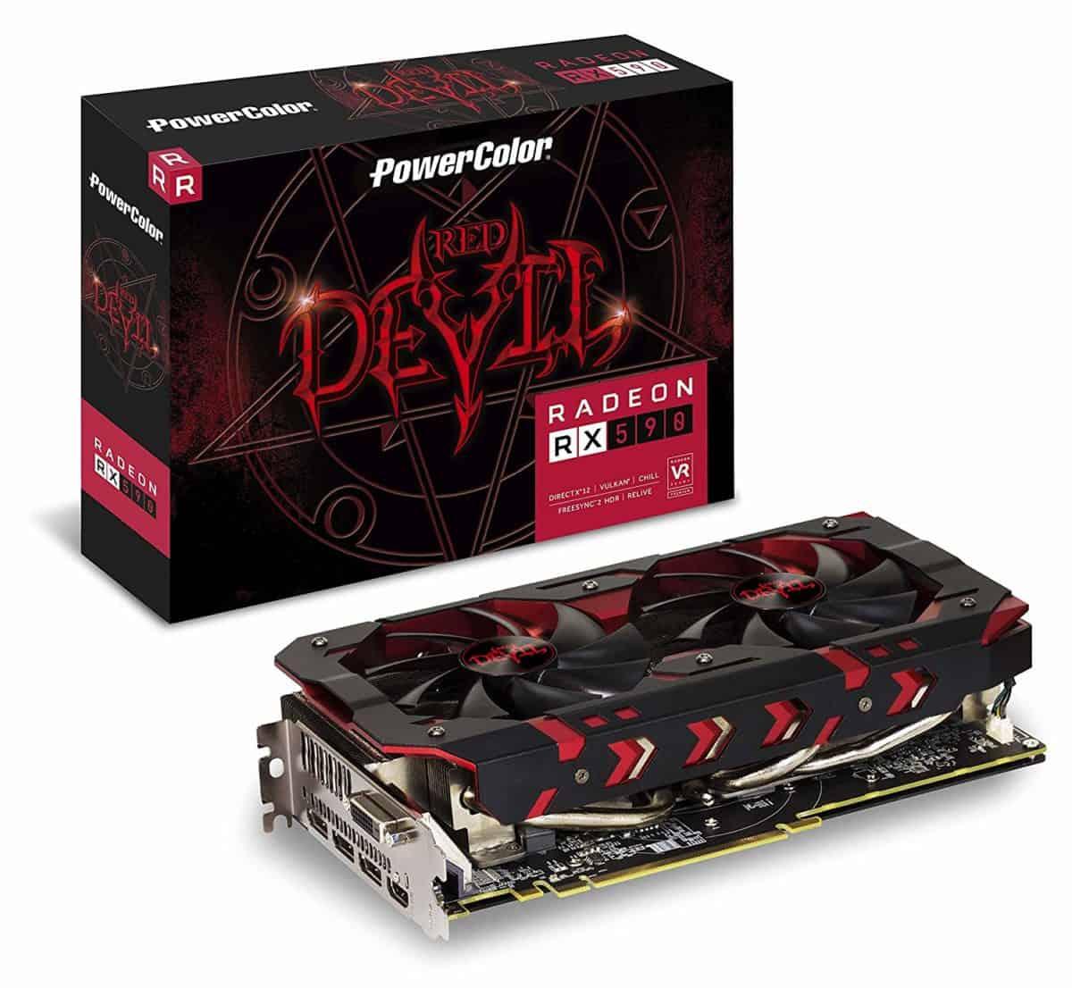PowerColor Red Devil Radeon™ RX 590 8GB GDDR5