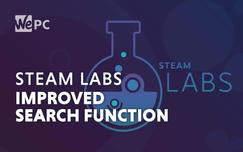 Steam Labs Improved Search Function