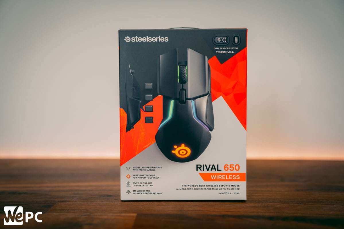 SteelSeries Rival 650 Box