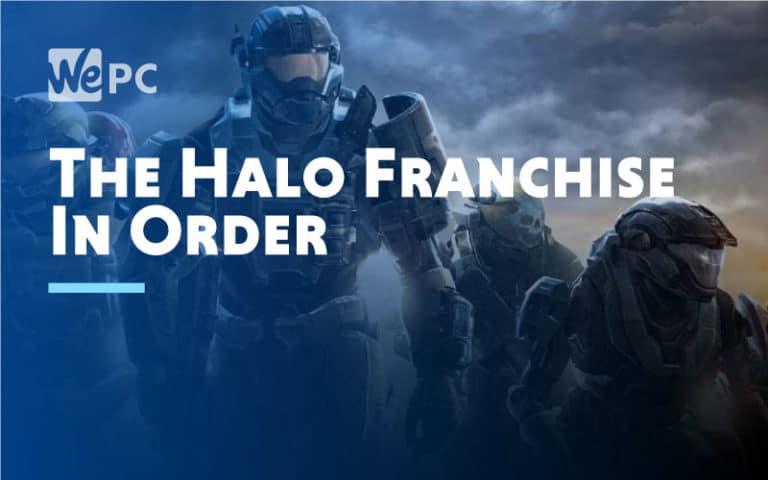 The Halo Franchise In Order