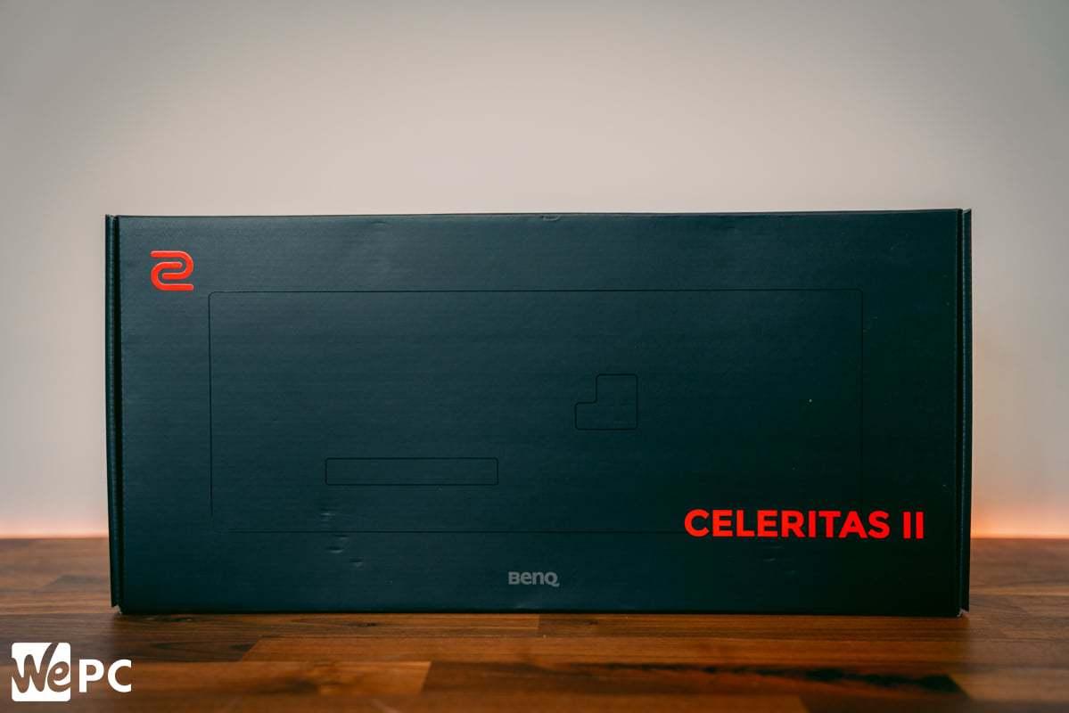 Zowie BenQ Celeritas II Keyboard Box