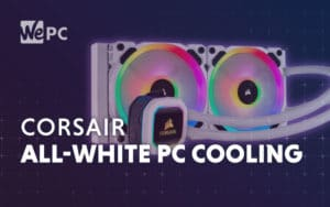corsair all white pc cooling