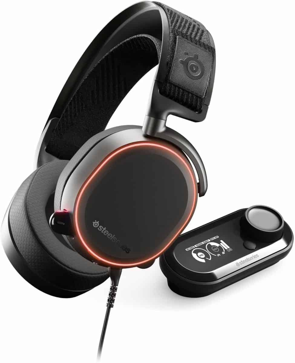 SteelSeries Arctis Pro + GameDAC Wired Gaming Headset
