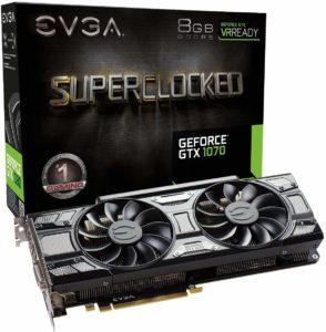 EVGA GeForce GTX 1070 SC Gaming