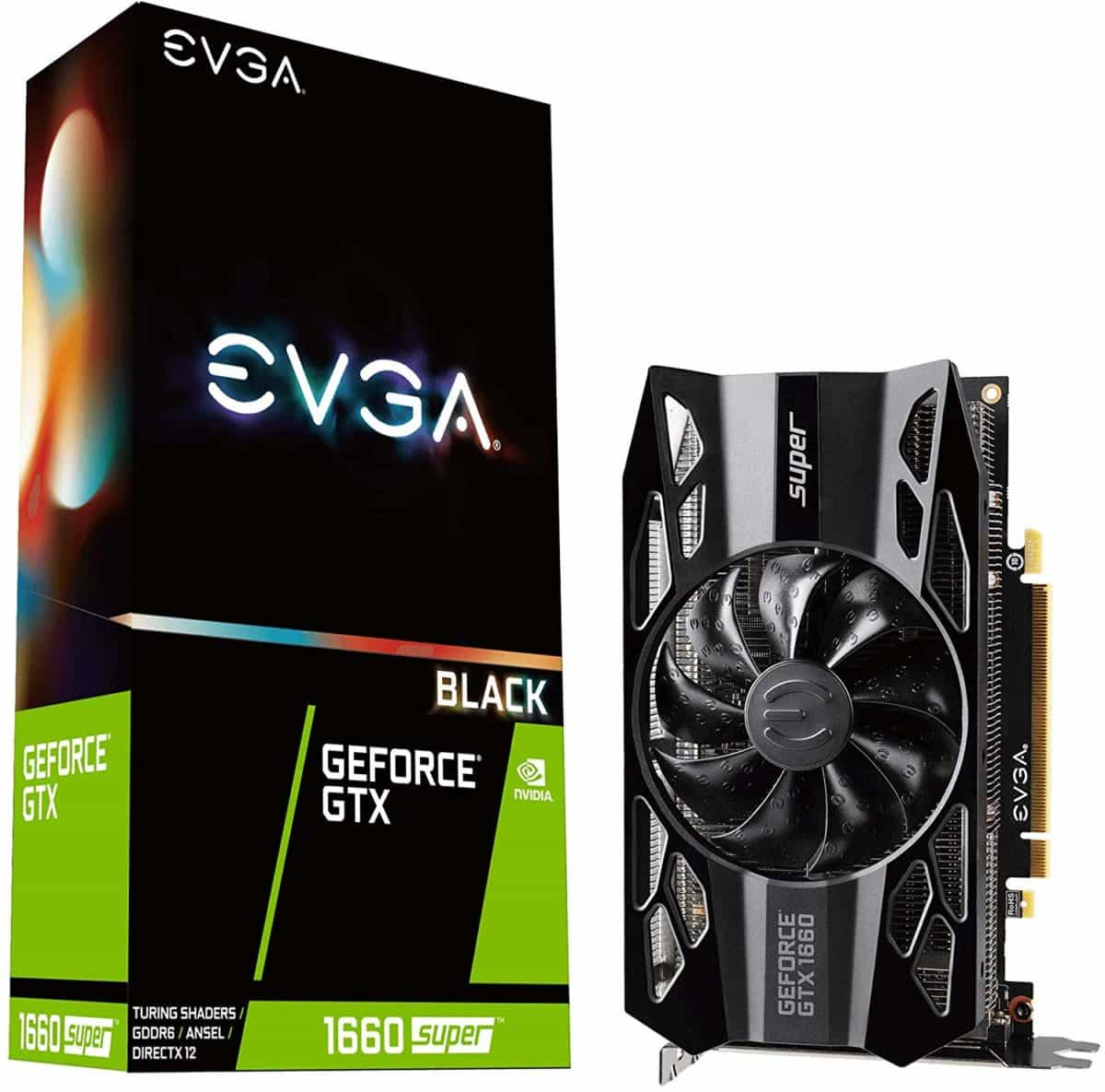 EVGA GeForce GTX 1660 Super 6GB SC Ultra Black
