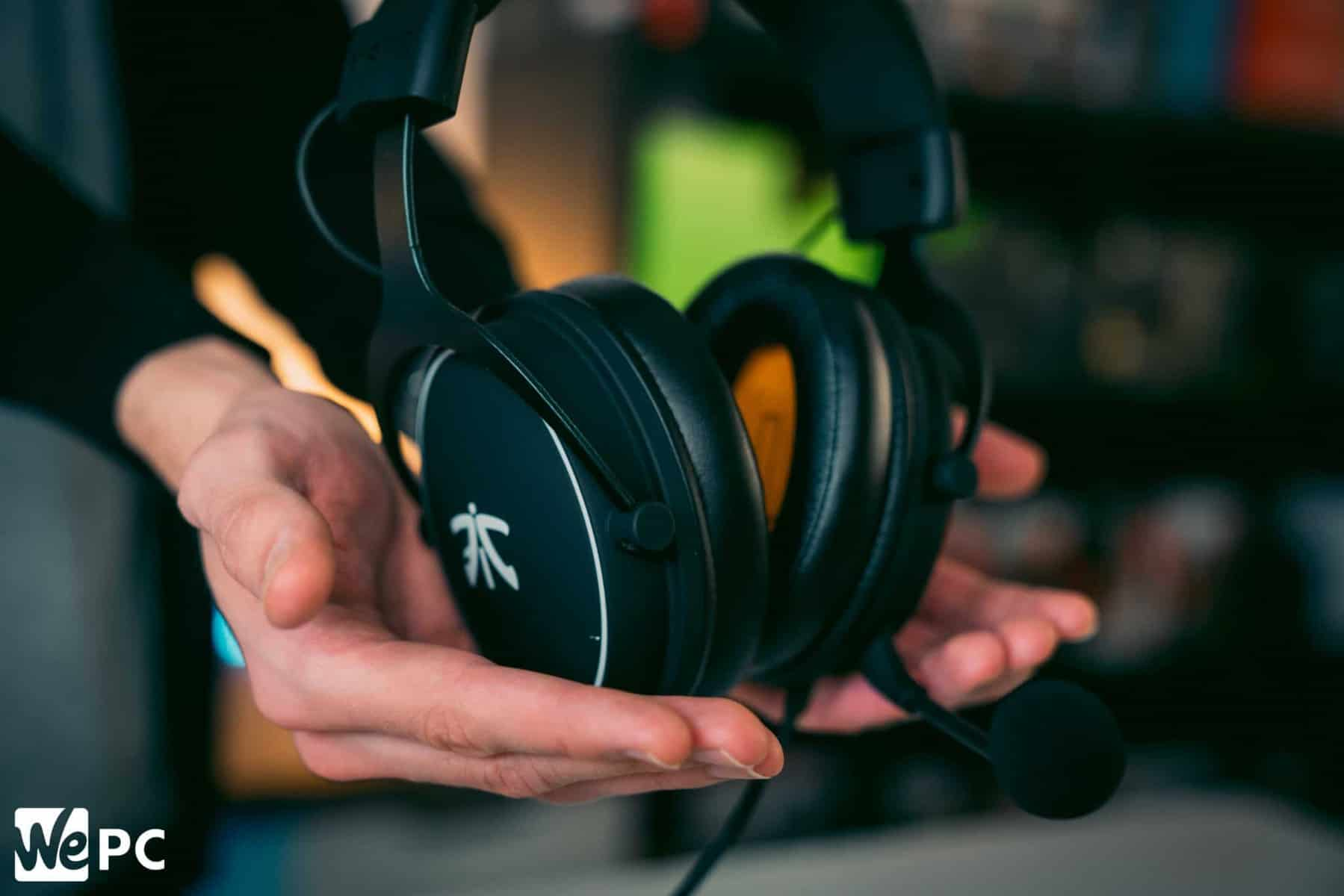 Gaming headset React Fnatic