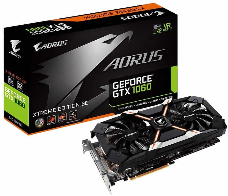 Gigabyte AORUS GeForce GTX 1060 Xtreme Edition