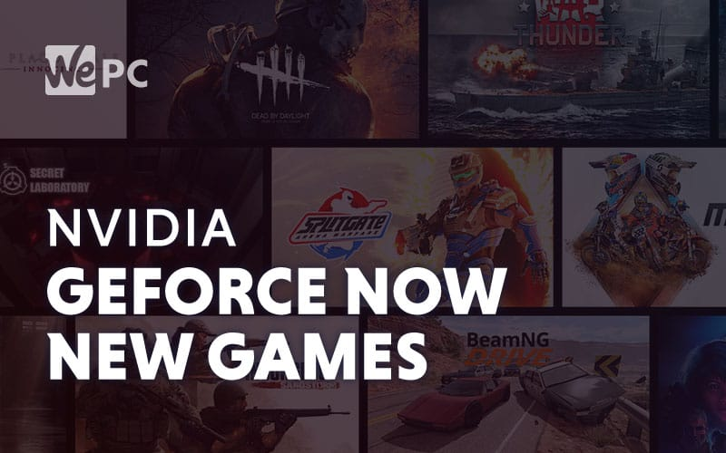 NVIDIA GeForce Now New Games