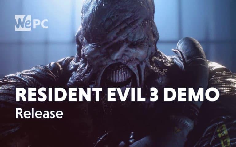 Resident Evil 3 Demo Release