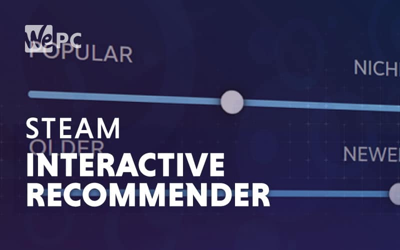 steam interactive recommender