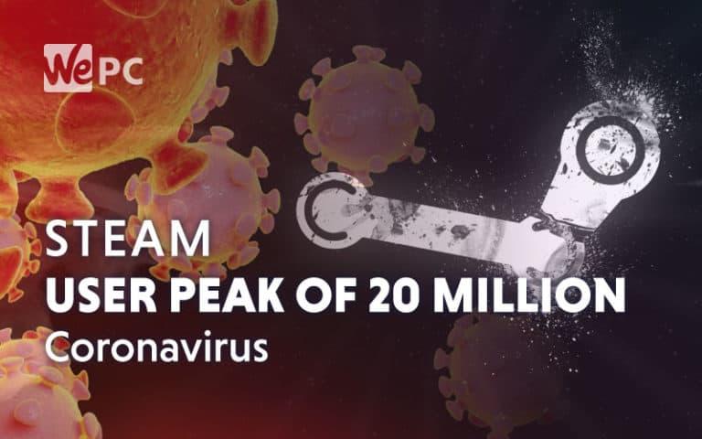 steam record users coronavirus
