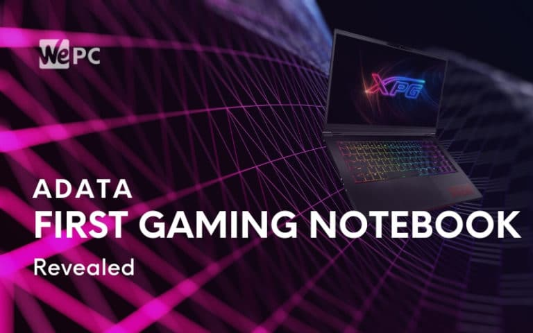 ADATA's First Gaming Notebook Revealed
