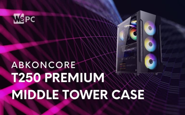 Abkoncore Lifts Curtain On T250 Premium Middle Tower Case