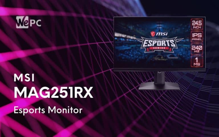 MSI Launches Optix MAG251RX Esports IPS Gaming Monitor