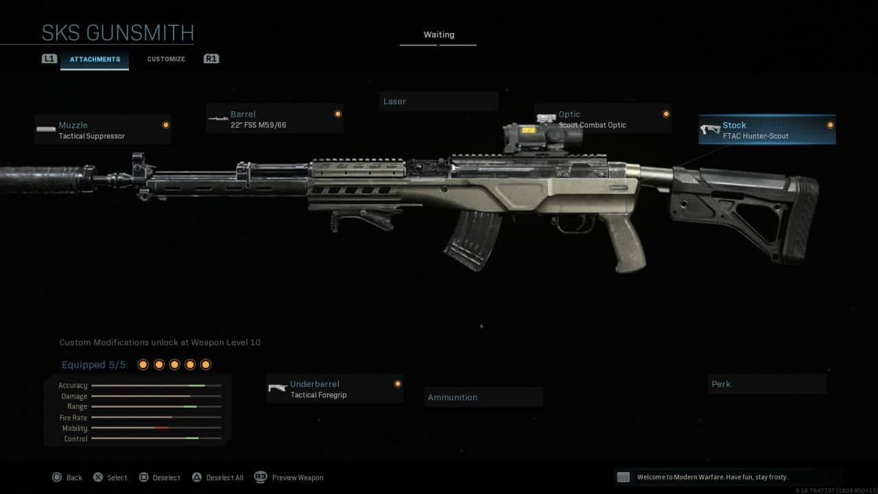 Call of Duty SKS