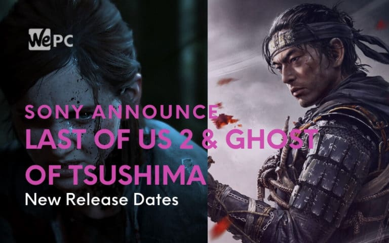 last of us 2 ghost of tsushima release date
