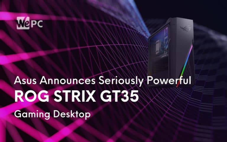 Asus Announces Seriously Powerful ROG Strix GT35 Gaming Desktop