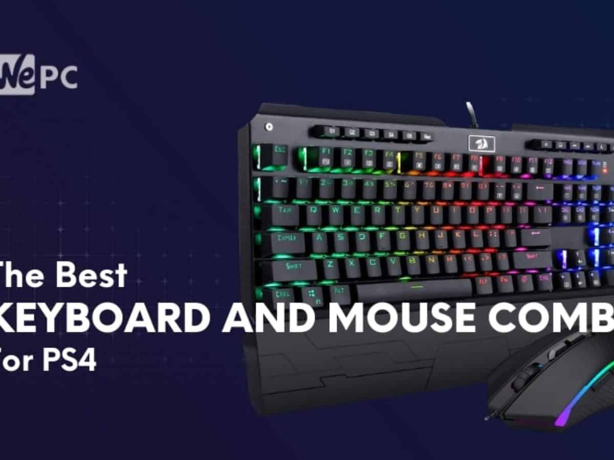The Best Keyboard And Mouse Combo For Ps4 Budget High End Mechanical