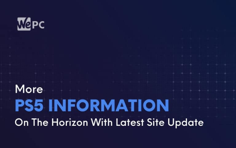More PS5 Information On The Horizon With Latest Site Update 1