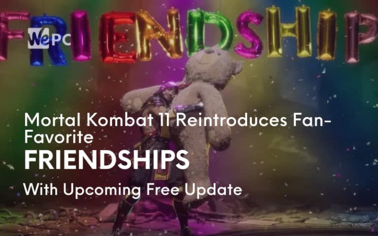 Mortal Kombat 11 Reintroduces Fan Favorite Friendships With Upcoming Free Update