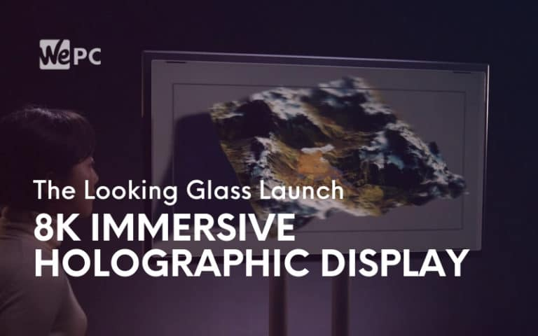 The Looking Glass Launch 8K Immersive Holographic Display