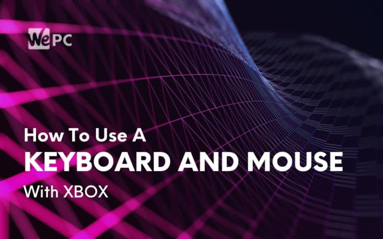 how to use keyboard and mouse with xbox