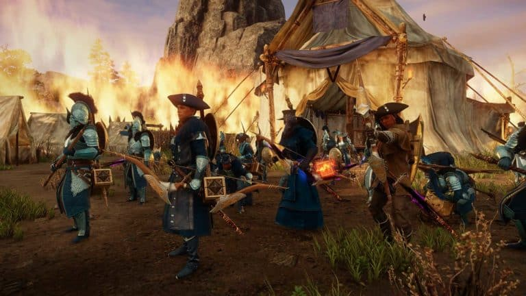 Amazon Demos First Look At MMORPG New Worlds Frantic 50v50 Objective Based War Mode