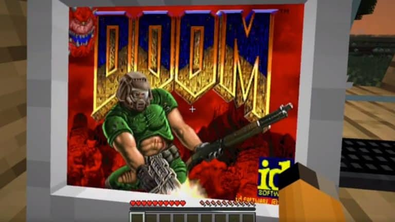 New Minecraft Mod Lets You Play Doom On A Working Virtual PC
