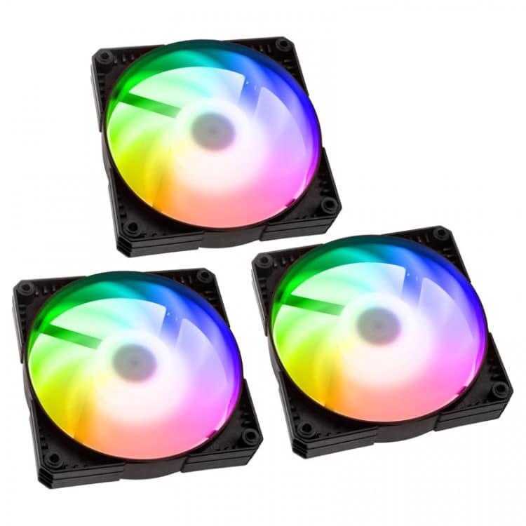 Phanteks SK120 Black DRGB PWM Fan 120mm Triple Pack