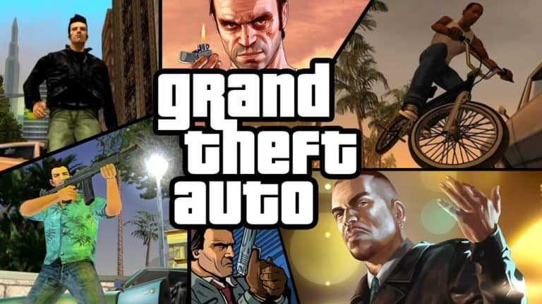 grand theft auto games in order