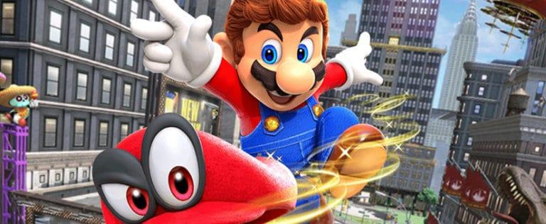 Benchmark Super Mario Odyssey